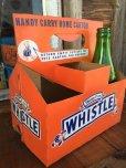 画像1: Vintage Soda 6-Pac bottles Cardboard carrying case / Whistle (DJ910) (1)