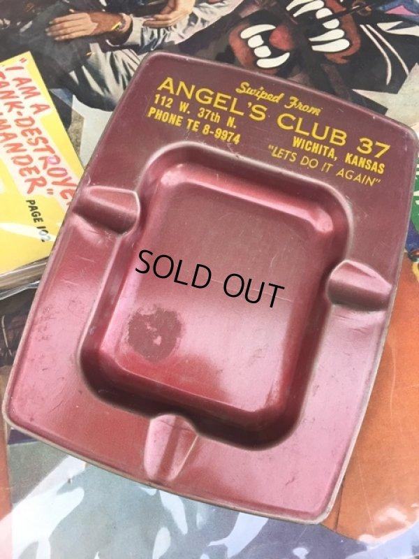 画像1: Vintage Angel's Club 37 AD Ashtray (MA88)