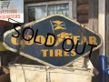 Vintage Good Year Tires Metal Sign (MA140)