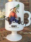 70s Vintage Federal Footed Mug Goofy (MA151)