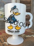 70s Vintage Federal Footed Mug Donald Duck (MA153)