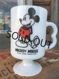 70s Vintage Federal Footed Mug Mickey (MA152)