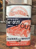 Vintage Wax Oil Can CLEANBRIGHT (MA163)