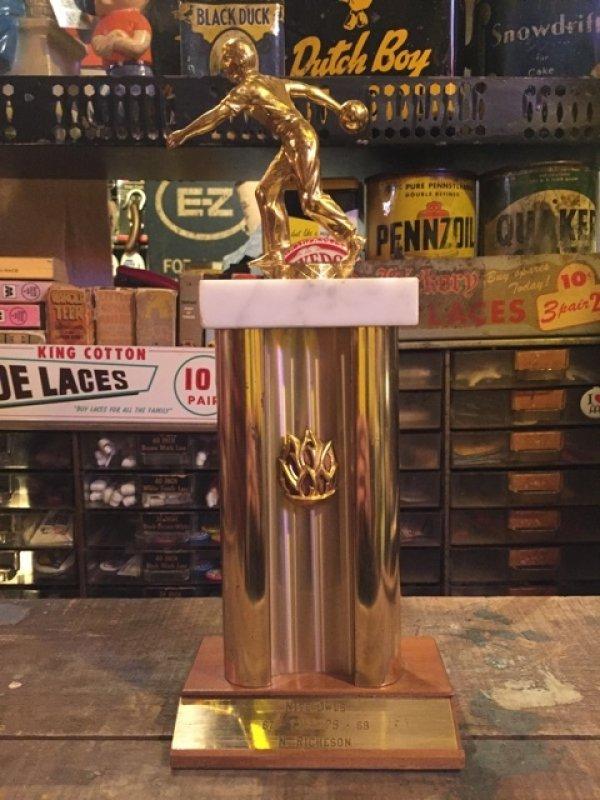 画像1: 60s Vintage Bowling Trophy  (MA165)