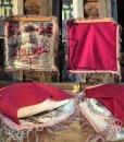 画像2: Vintage Souvenir Cushion PIKES PEAK REGION (MA193) (2)