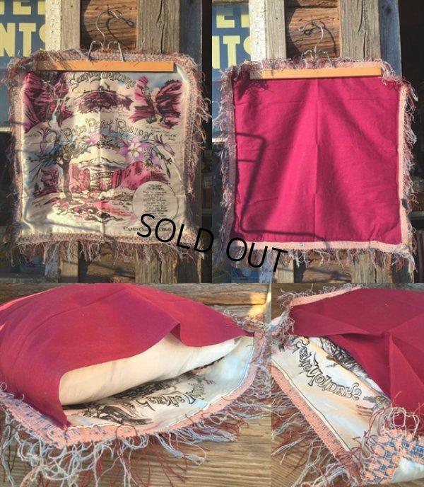 画像2: Vintage Souvenir Cushion PIKES PEAK REGION (MA193)
