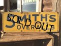 VINTAGE SMITH'S OVERALLS METAL SIGN (MA232)