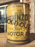 Vintage PENNZOIL 1 Quart Motor Oil Can (MA289)