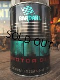 Vintage BARDAHL 1 Quart Motor Oil Can (MA276)