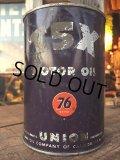 Vintage UNION76 T5X 1 Quart Motor Oil Can (MA286)