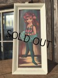 SALE!60s Eden Vintage Big Eyes Art Ballerina (MA293)