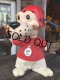 Vintage RDF Dog Bank FOOTBALL RED (MA377)