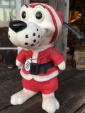 Vintage RDF Dog Bank SANTA (MA378)
