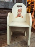 Vintage Kids Chair Bear&Lam (MA401)