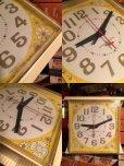 画像2: Vintage GE Kitchen Wall Clock Flower (MA443) (2)