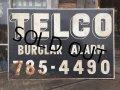 Vintage Telco Burglar Alarm Metal Sign (MA447)