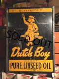 Vintage Dutch Boy Paint Metal Sign (MA460)