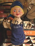 Vintage Dutch Boy Paint Hund Puppet (MA454)