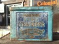 Vintage Fairy Soda Fine Crackers Tin Can Canco (MA478)