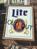 Vintage Lite Beer Light Up Sign (MA489)