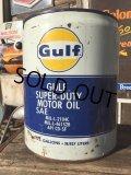 Vintage Gulf 5GL Motor Gas/Oil Can (MA417)