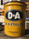 Vintage D-A 5GL Motor Gas/Oil Can (MA423)