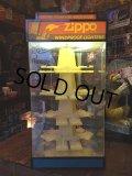 Vintage Zippo Display Case W/Lights(MA510)