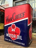 Vintage War Chief Motor Oil Can 2GL (MA544)