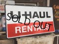 Vintage U-HAUL RENTALS Sign (MA561)