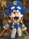 90s Vintage Cap'n Crunch Plush Doll (MA581)