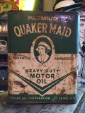 Vintage Quaker Maid Motor Oil Can 2GL (MA596)