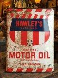 Vintage HAWLEY'S Motor Oil Can 2GL (MA590)