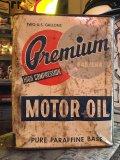 Vintage Premiun Motor Oil Can 2GL (MA593)