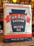 Vintage PUR AVIS Motor Oil Can 2GL (MA591)