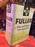 Vintage Fuller Paints Painter Thinner Tin (MA608)