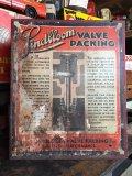 1920s Vintage Lindbloom Valve Store Cabinet (MA637)