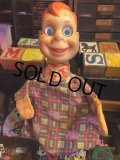 Vintage Howdy Doody Gund Google eyes Hand Puppet (MA690)
