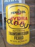 Vintage Penzzoil Transmission Fluid QT Can (MA694)
