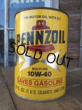 Vintage Penzzoil Motor Oil QT Can (MA696)