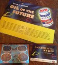 50s Vintage AMOCO Motor Oil A GUIDE TO THE STARS (MA719)