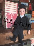 Vintage Charlie McCarthy Ventriloquist Doll W/BOX  (MA720)