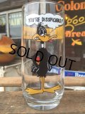 80s Vintage Pepsi Glass Looney Tunes Daffy Duck (MA729)