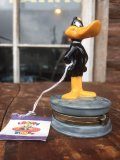 Vintage Looney Tunes Daffy Duck Ceramic Jewlry Box (MA739)