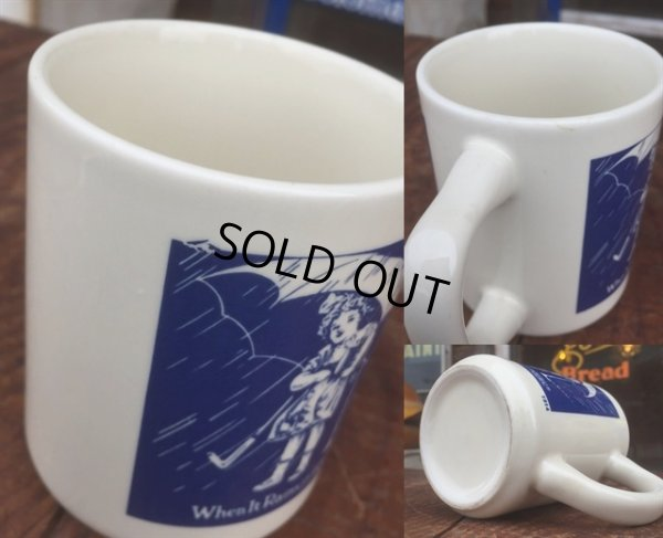 画像3: Vintge Morton Salt 10s Umbrella Girl Mug (MA807)