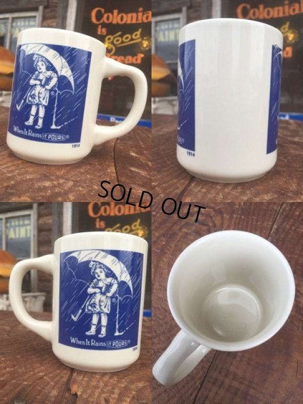 画像2: Vintge Morton Salt 10s Umbrella Girl Mug (MA807)