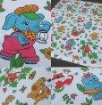 画像2: Vintage Animals Flat Sheet (MA818) (2)