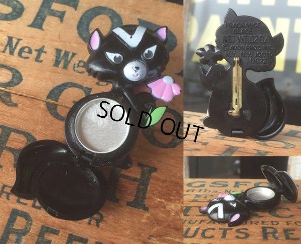 画像2: 70s Avon Fragrance Glace Pin Skunk (MA877)