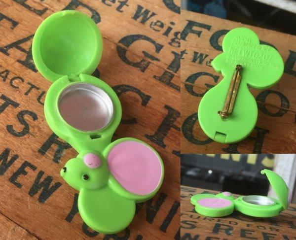 画像2: 70s Avon Fragrance Glace Pin Mouse (MA876)