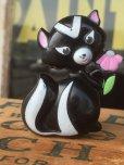画像1: 70s Avon Fragrance Glace Pin Skunk (MA877) (1)