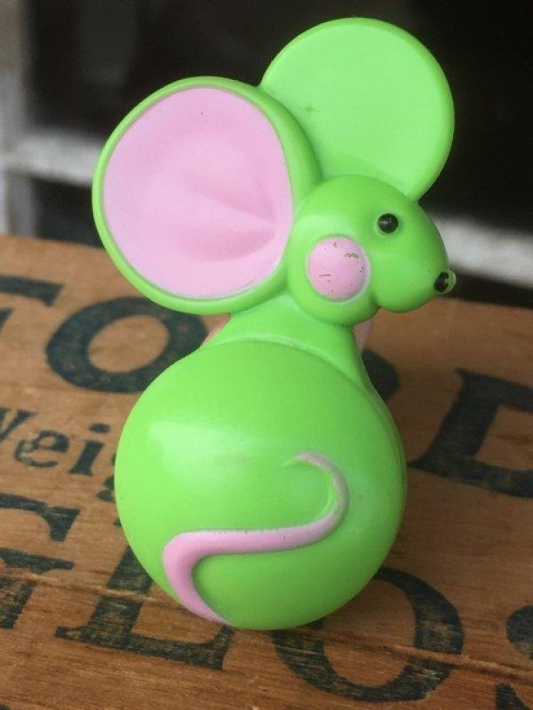 画像1: 70s Avon Fragrance Glace Pin Mouse (MA876)